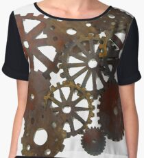 #Cyberpunk, #Steampunk, #Technopunk, #Science #fiction,  #SF, #scifi,  #speculative fiction, Cyberpunk #artwork, Chiffon Top