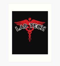 Lab Tech Laboratory Technician Medical Lab Art Print