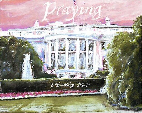 Pray for America by Douglas Rickard