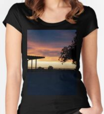 Desert Dessert  Women's Fitted Scoop T-Shirt
