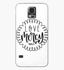 micah 6:8  Case/Skin for Samsung Galaxy