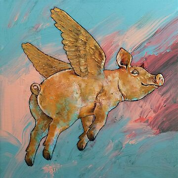Flying Pig by michaelcreese