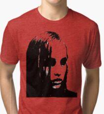 Niedrige Tri-blend T-Shirt