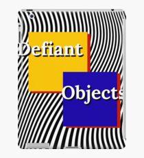 defiant objects iPad Case/Skin