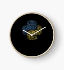 Cool Python Word Cloud Programming Coding Geek Coder T-Shirt Clock