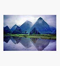 Yangshou karst, China Photographic Print