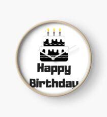Happy Birthday Celebration Clock