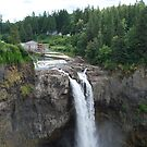 Snoqualmie Falls by Cathy Jones