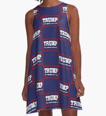 Keep America Great 2020 Re-Elect Donald Trump A-Line Dress