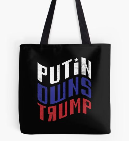 Putin Owns Trump Tote Bag