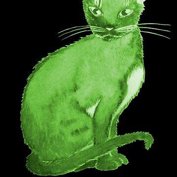 Purr Vert by ingridthecrafty