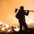 «Incendios y fotógrafos» de M. Fittock
