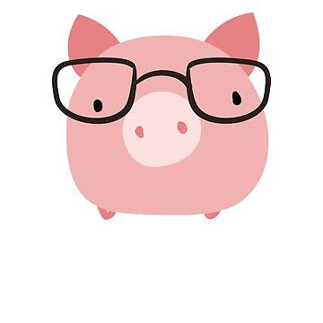 Pig, Cowgirl, Piggy, Cute Pig by eFfany