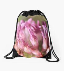 Pink Macro Drawstring Bag