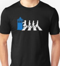 Abbey Road Tardis Doctor Who Slim Fit T-Shirt