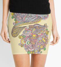 Circles Mini Skirt