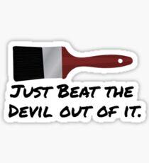Bob Ross Quote Sticker