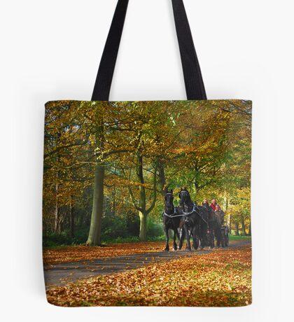 Autumn Ride Tote Bag