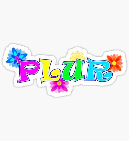 PLUR Sticker