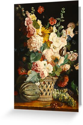 fruits and flowers  after A. Berjon by pucci ferraris
