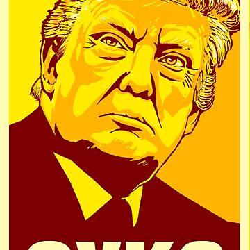 Trump Russian Cyka 2 by GrizzlyGaz