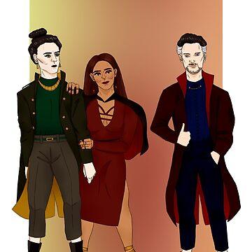magic squad by novakstiels