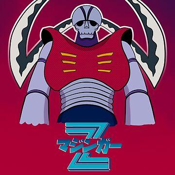 Garada K7 - Mazinger Z by GiGi-Gabutto