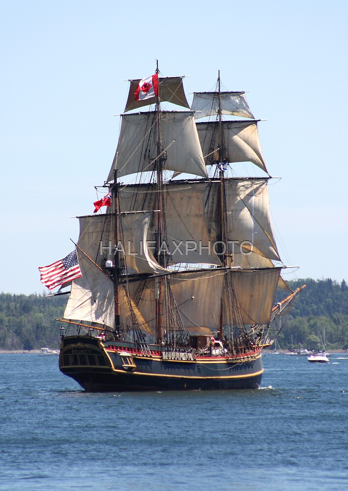H.M.S Bounty by HALIFAXPHOTO