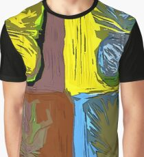 POP ART PINEAPPLES | FENCE ART-BY JANE HOLLOWAY Graphic T-Shirt