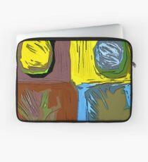 POP ART PINEAPPLES | FENCE ART-BY JANE HOLLOWAY Laptop Sleeve