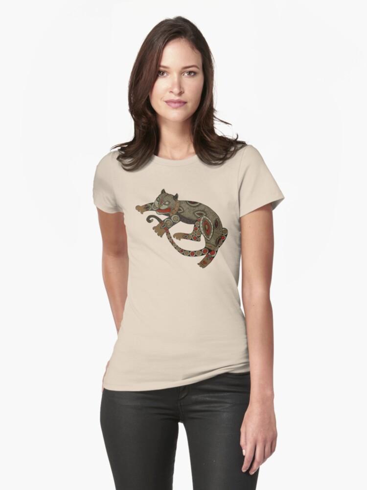 Prowling Cat Tee by Lynnette Shelley