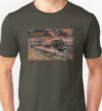 Full Steam - The Vintage Train Unisex T-Shirt