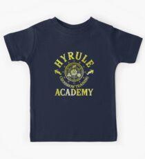 Hyrule Crossbow Training Academy Kids Tee