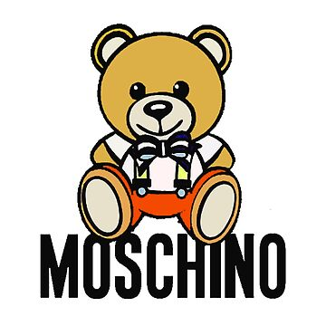 Moschino Brown Bear Doll by codpet
