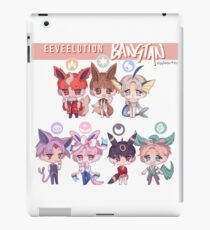 eeveelution x bangtan iPad Case/Skin