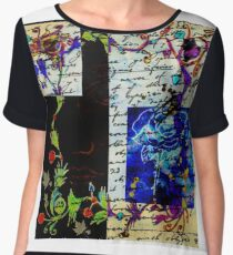 The letter Chiffon Top