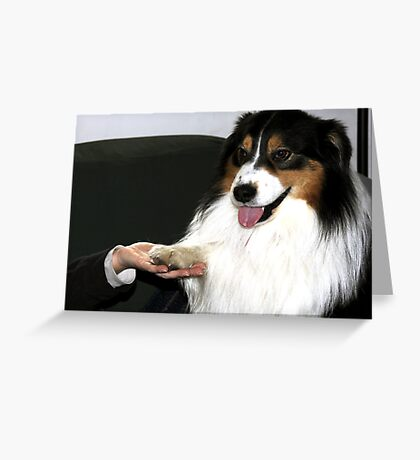 Building Trust Greeting Card