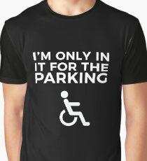 Funny Wheelchair Shirt Graphic T-Shirt