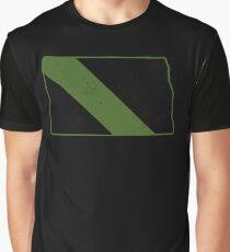 Park Ranger North Dakota Military Patrol CBP Officer Graphic T-Shirt