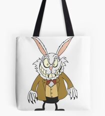 Scary Rabbit Tote Bag