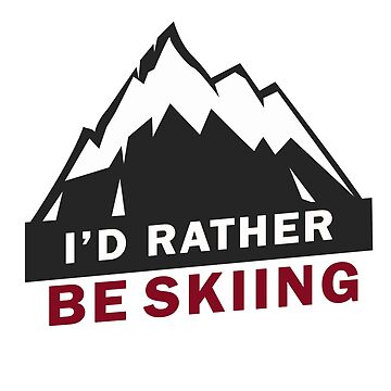Skiing by 0815-Shirts