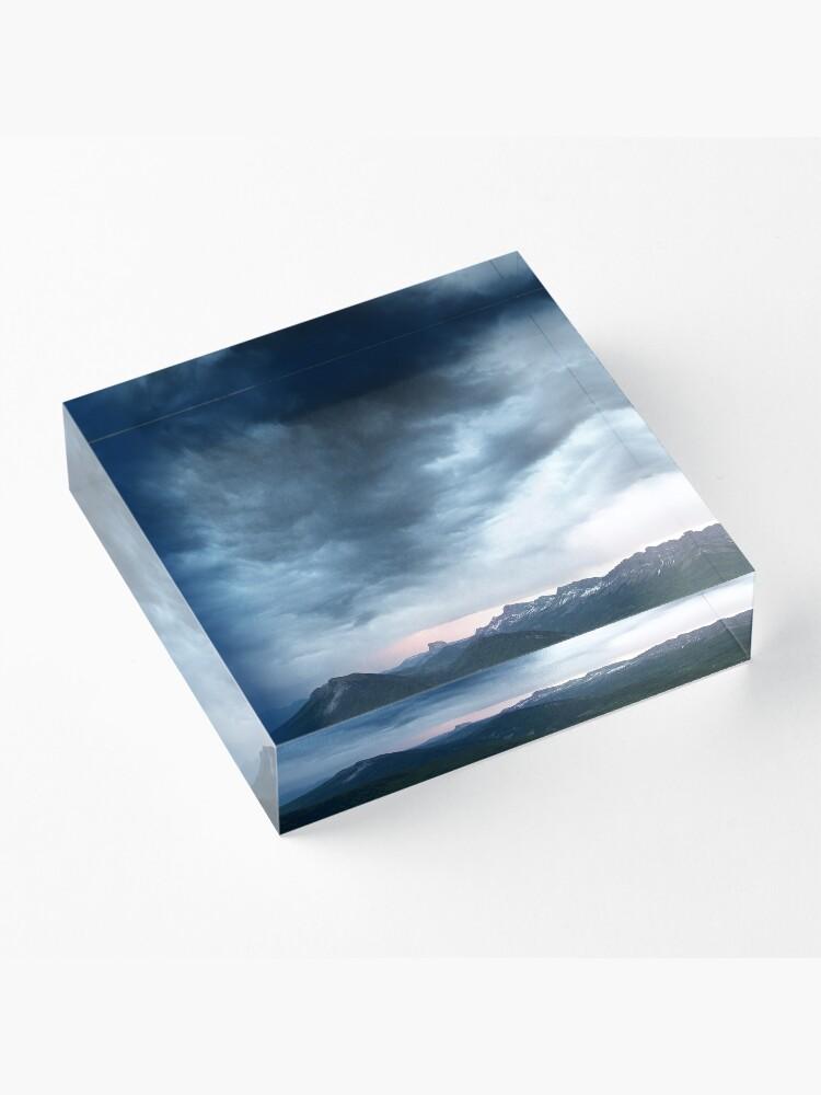 Bloc acrylique ''Le Mont-Aiguille': autre vue