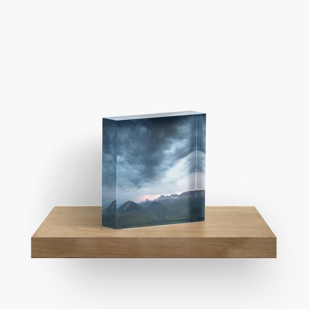 Bloc acrylique «Le Mont-Aiguille»