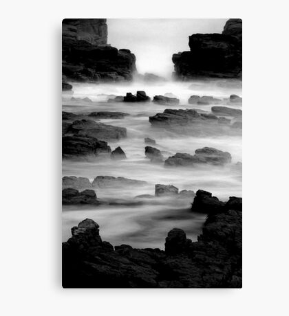 Soft foreshore Canvas Print