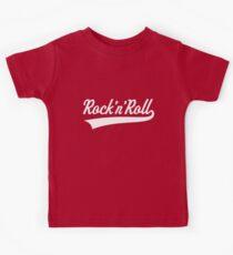 Rock 'n' Roll (White) Kids Tee
