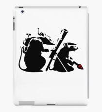 Banksy War on Art Rats iPad Case/Skin