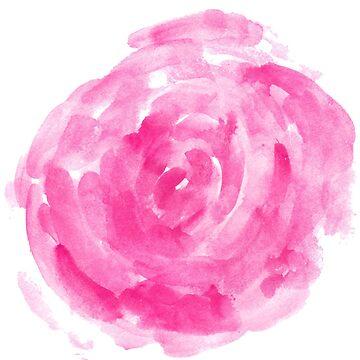 pink peony by lisenok