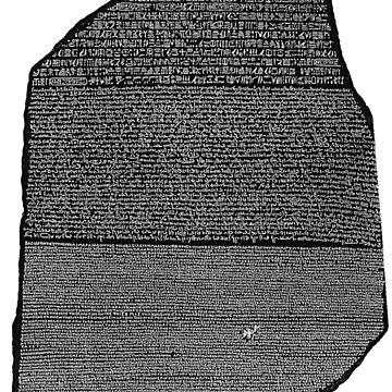 Rosetta Stone by ghjura