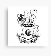 Extra Dark Roast Coffee Canvas Print