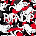 RIPNDIP Camo Cat In Red by dankcats